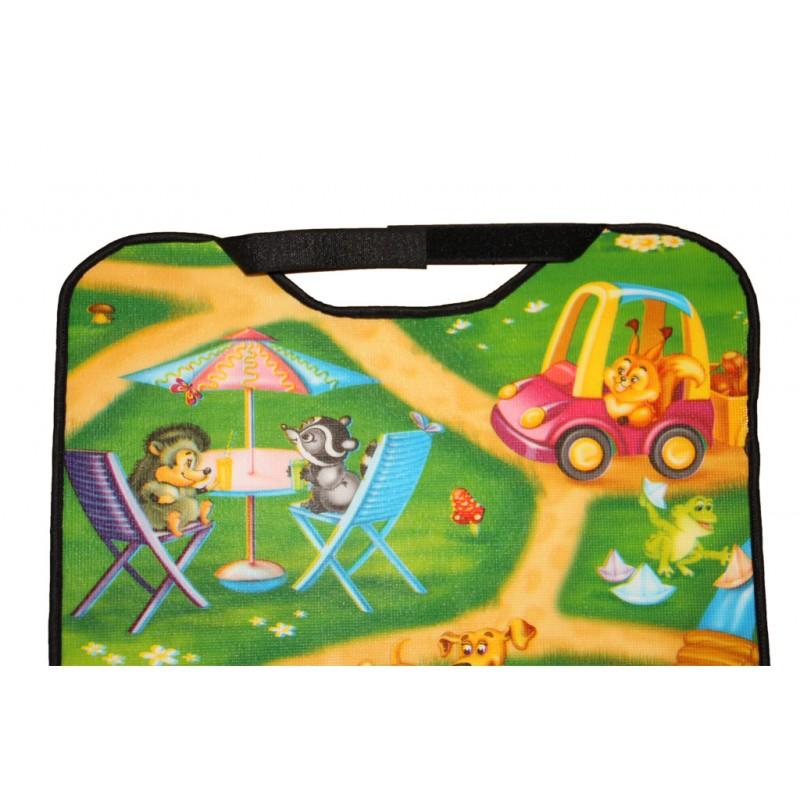 """Защитная накидка для передних сидений автомобиля """"Дороги"""""""