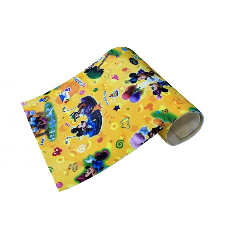 """Детский рулонный коврик Disney/Mickey Mouse """"Микки Маус"""". 2000х1450х5мм. Юрим. Артикул: 605033"""