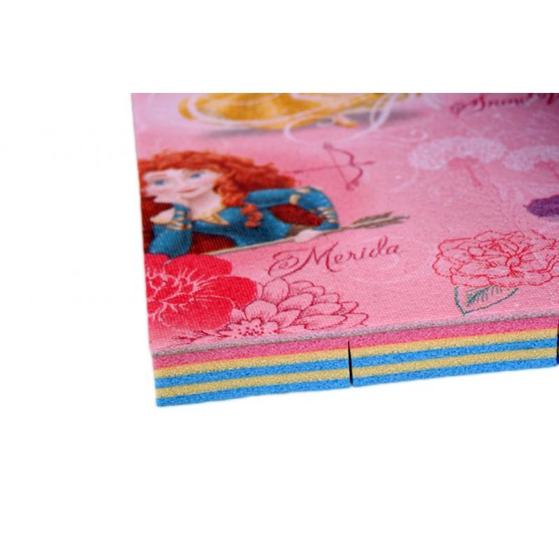 Ролл-мат с изображениями Принцесс Disney. 2000х1450х30мм.  Юрим.  Артикул: 630043R